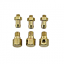 Ofna Brass Right Angle Pressure Nipples