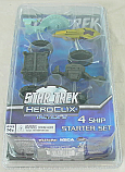Star Trek Heroclix Tactics III 4-Ship Starter Miniatures Game Set WZK71009
