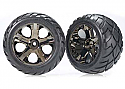 Traxxas Anaconda Tires Mounted on All Star Wheels Front (2)