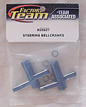 Associated Mini Monster GT Blue Alloy Ball Bearing Steering Bellcrank Set