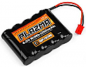 HPI Racing Plazma NiMH 6.0V 1200mAh Flat Receiver Battery Pack/Micro RS4  HPI110203