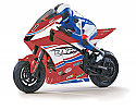 Duratrax DXR 500 1/5th Scale RTR Radio Controlled Motorcycle (Red Body) DTXD04RR