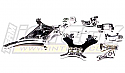 Team Associated SC10 Short Course Truck PRO Silver Alloy Conversion Kit INTT7864SILVER