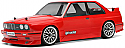 HPI Racing BMW M3 E30 Clear Body 200mm  HPI17540