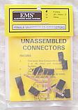 Unassembled Female Futaba J Connectors (5pcs) EMOM0016/EMO0016
