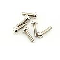 Traxxas 1/10th Scale 3 x 12mm Washerhead Machined Screws (6)/Nitro Hawk  TRA3186