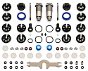 Team Associated V2 Rear Shock Kit 12x31B/27.5S/RC10B5/B5M  ASC91498