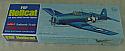 Guillow's F6F Hellcat WWI US NAvy Carrier Fighter Balsa & Tissue Model Kit GUI503