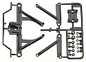 Tamiya F104 Front Suspension Arm Set (F Parts Bag)