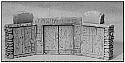 Egyptian Tomb Doors Miniatures Scenery Set
