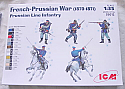 1/35th French-Prussian War Line Infantry (1870-1871) Model Kit
