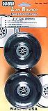 """DU-BRO Low Bounce Treaded Wheels 3-1/2"""" (2)  DUB350T"""