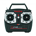 Tactic TTX410 2.4GHz 4-Ch. Radio System, Mode 2 w/TR625 6-Ch. Receiver  TACJ2410