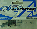 Team Losi Front Shock Tower and Rear Body Mount Set/Micro-Baja  LOSB1506