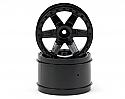 """Pro-Line Racing Desperado 2.8"""" Black Rear Wheels (2) PRO272903"""