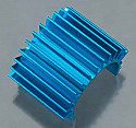 Duratrax 1/18th Scale Blue Aluminum Motor Heat Sink/Mini Quake  DTXC8279