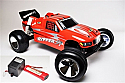 MRP Red Ripper ST 2.4ghz RTR 1/10th Scale 2WD Stadium Truck w/Battery/Charger MRP6539-F281B