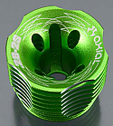 Axial Racing .28 Spec 2S Green Heat Sink Head