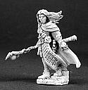 Dark Heaven Legends Damar Hawkwinter, Adventuring Mage Miniature by Reaper Miniatures RPR03095