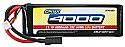 Duratrax Onyx 11.1C 3-Cell 25C 4000mAh LiPo Car/Truck Battery w/Traxxas HC Connector DTXC1863