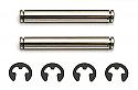 Associated RC10 B3/GT King Pins w/Clips