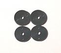Mugen MBX5 Big Bore 1.5mm Shock Pistons (4)