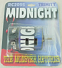 Trinity Midnight Monster Stort Stack/Slotted Stock (27T) Brushed Racing Motor TRIRC2095