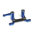 Pro-Line Racing 1/10 Scale Aluminum Steering Rack/PRO-2SC/Slash/Rust  PRO606701