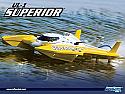 "Aquacraft UL-1 Superior R/C Brushless Hydroplane Race Boat (27"" Long) AQUB20YY"