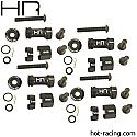 Hot Racing 1/10th Scale 12mm Multi Width Hex Hubs 30 - 60mm  HRASCP10MW01