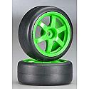 Traxxas 1/16th Scale Volk Racing TE37 Tires/Wheels/Ken Block Fiesta  TRA7375A