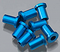 Team Associated TC6 Factory Team Blue Aluminum Arm Mount Bushing