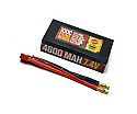 Racers Edge 4600mAh 100C 2S LiPo Shorty Pack w/Deans Wire Set  RCELP2S4600100C
