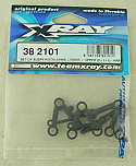 XRAY M18 Lower/Upper Suspension Arm Set