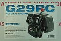 Zenoah G29RC Gasoline 1/5th Scale RC Car Engine w/Clutch ZENE29RC
