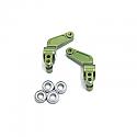 Traxxas Stampede/Rustler/Bandit/Slash Green Alloy Rear Hub Carriers STRST3652G