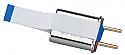 Hitec 72Mhz Dual conversion DC Channel 25 AM/FM Receiver Crystal HRC6677225