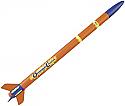Estes Orange Crush Model Rocket Kit Skill Level E2X  EST2428