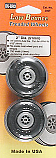 "Du-bro 2"" Low Bounce Treaded Airplane Wheels (2)"