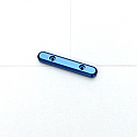 Associated RC10 T4/B4/SC10 Blue Alloy Front Hinge Pin Brace