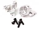 Axial SCX10 / AX10 Silver Alloy C-Hub Set w/Screws by Racers Edge RCE1826S