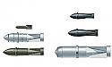 Italeri 1/72 Scale WWII German Aircraft Weapons Set #1  ITA5526101