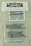 Losi 8ight 2.0 1/8th Scale Buggy Titanium Turnbuckle & Hinge Pin Set by Lunsford LNS4505