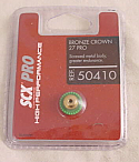 SCX Slot Car Pro 27T Bronze Crown Gear SCX50410