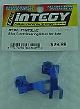 Traxxas JATO Blue Alloy Front Steering Blocks INTT7907BLUE