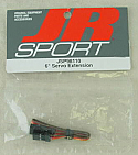 "JR Radios 6"" Servo Extension (Universal JR/HRC/AIR Connector) JSP98110"