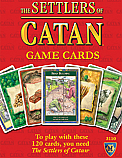 The Settlers of Catan Replacement Game Cards MFG3110