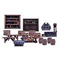 Dungeon Saga Board Game: Dungeon Furniture Miniatures Set MGEMGDS14