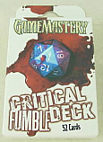Game Mastery Role Playing Accessory: Critical Fumble Deck