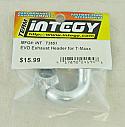 Traxxas T-Maxx 2.5/3.3 EVO Exhaust Header by Integy